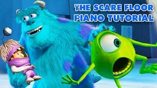 The Scare Floor (from Monsters Inc.) - Piano Tutorial
