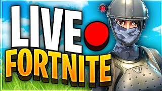 MINI BATTLE ROYALE WITH VIEWERS / SUBS! - Fortnite Live stream (Use Code: MrTeefo)
