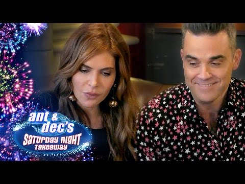Robbie Williams & Ayda Field's 'Get Out Of Me Ear!' Prank