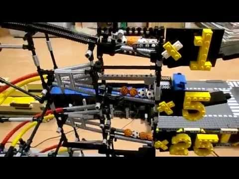 The Most Awesome Lego Machine Robot You Will Ever See - YouTube