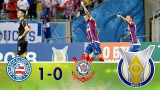 Melhores momentos - Bahia 1 x 0 Corinthians - Campeonato Brasileiro