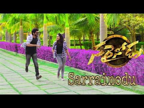 Sarrainodu - Title Song - Dance Cover - Sravan Grace