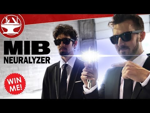 Real Life MIB Neuralyzer (+ GIVEAWAY)