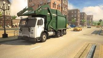 3D Garbage Truck Parking Game - Android/iOS GamePlay Trailer