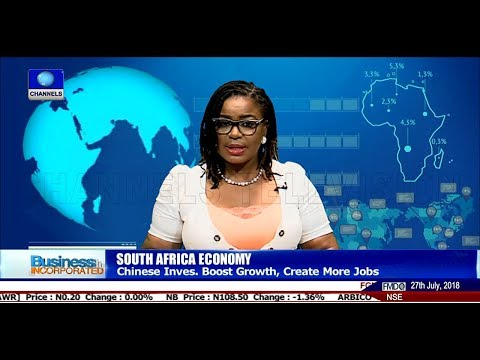 South Africa's Economy To Receive $14.7bn Investment From China |Business Incorporated|
