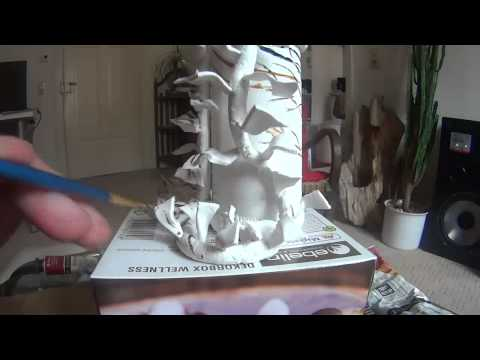 Painting the Organic Sculpture