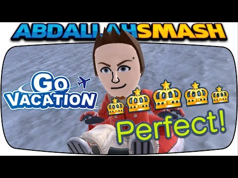 Go Vacation on Nintendo Switch - TUBE BOWLING PERFECT SCORE! [Episode 7]
