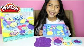 Tuesday Play Doh Cookie Creations Biscuits En Fête |play Doh Sweet Treats| B2cutecupcakes