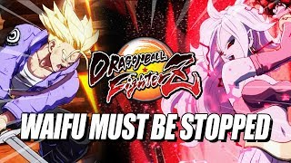 WAIFU MUST BE STOPPED: Dragon Ball FighterZ - Ranked Matches