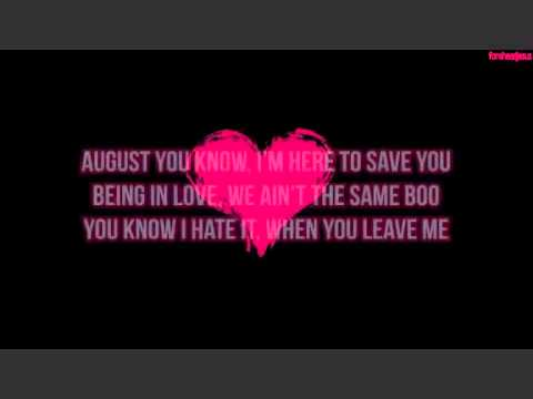 Download August Alsina No Love Ft Nicki Minaj Mp3