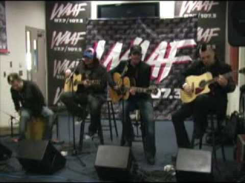 Three Days Grace (ft. Seether) - Never Too Late (Live) @ WAAF 97.7 Radio Station