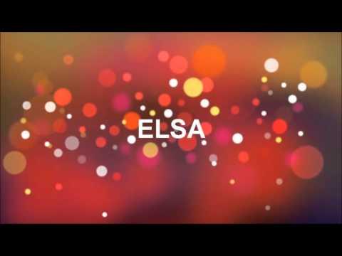 Joyeux Anniversaire Elsa Youtube