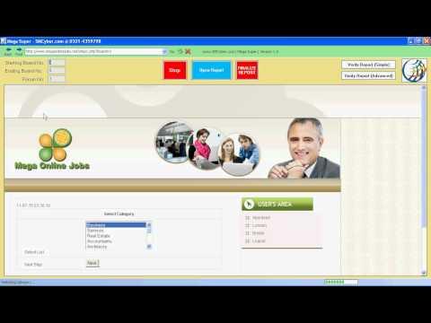 Mega Super | Mega online jobs software