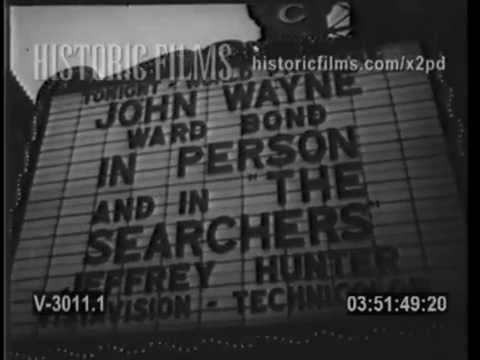 """THE SEARCHERS"" (1956) PREMIERE in CHICAGO"