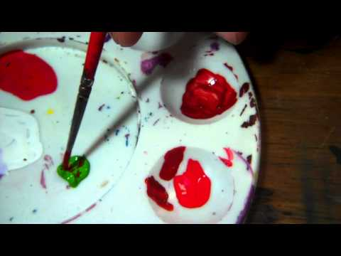 How to: Mix a darker red paint
