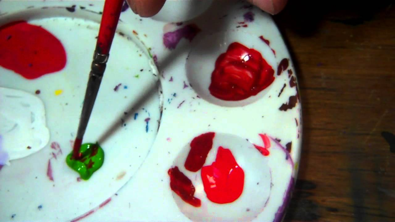 How To Mix A Darker Red Paint