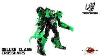 Video Review of the Transformers Age of Extinction: Deluxe Class Crosshairs