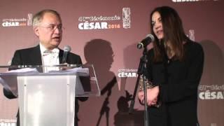 Mathilde Van de Moortel César 2016 du Meilleur Montage pour Mustang