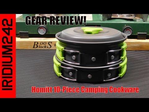 homitt-10-piece-camping-cookware-set-review!