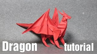 Origami Dragon 3.0 tutorial - DIY (Henry Phạm)