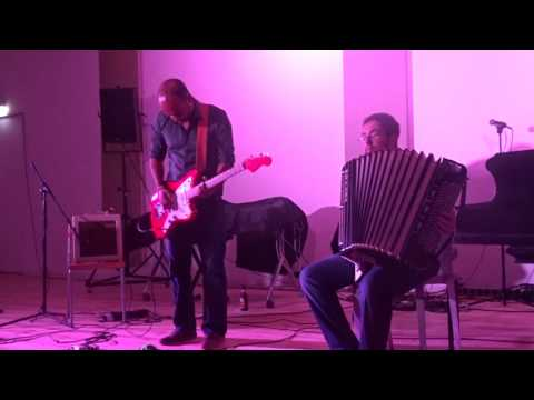 Leo Svirsky & Arvind Ganga - Improvisations on accordeon and guitar, Studio Loos