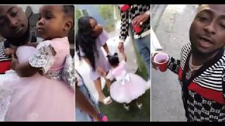 Davido Threw His 2nd Daughter a 1st Birthday Party In Atlanta