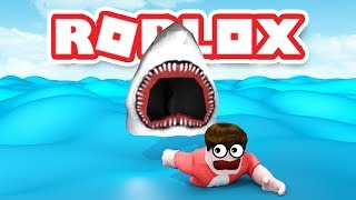 SHARK BITE ATTACK IN ROBLOX