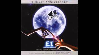 E.T.  The Extra Terrestrial OST ( John Williams ) - Over The Moon
