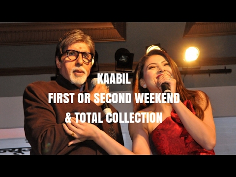 KAABIL First Weekend + Second Weekend + Total Box Office Collection | Full Movie