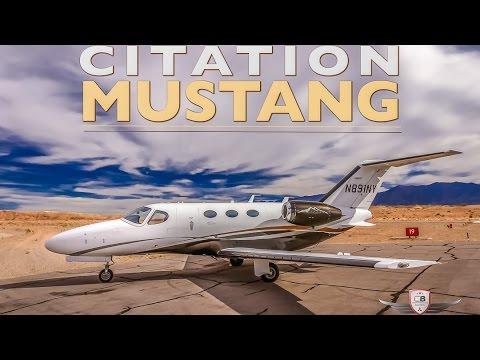 Citation Mustang Jet Tour & Flight