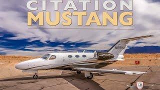 citation mustang jet tour flight