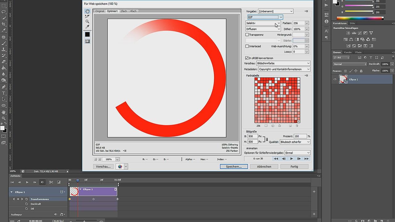 GIF-Preloader Animation erstellen – Photoshop-Tutorial - YouTube