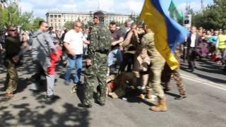 Николаев: драка патриотов с афганцами