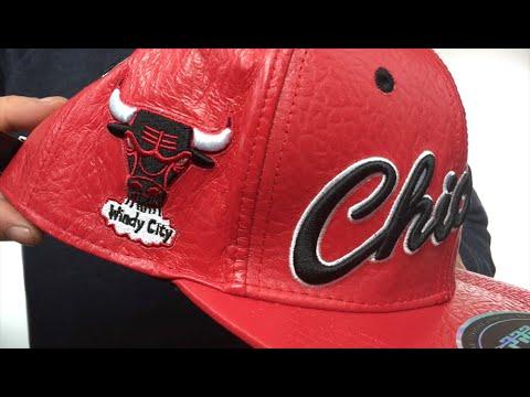 183be5790c8 Bulls  RETRO-SCRIPT PREMIUM STRAPBACK  Red Hat by Pro Standard - YouTube