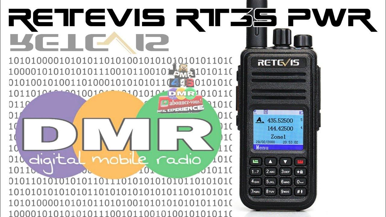 Retevis RT3S PWR 💪 Test vhf uhf