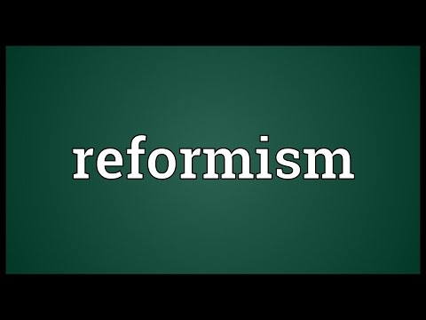 Reformism Meaning