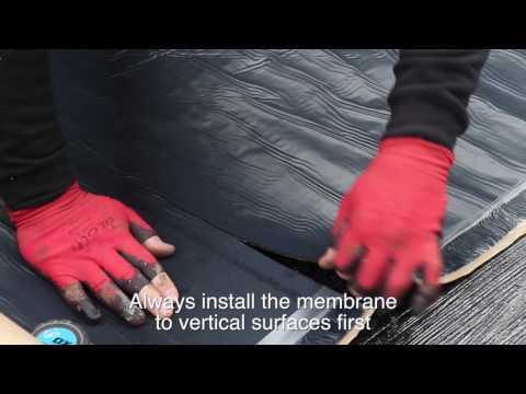 How to Apply Self-Adhesive Waterproofing Membranes