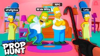 Me hago pasar por Homero en casa de los Simpson