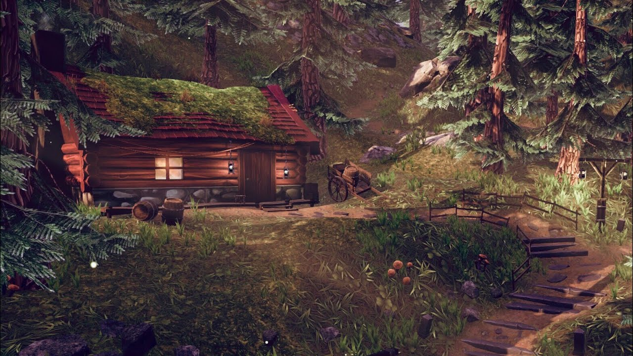 Herbalist's Cabin | ASMR Ambience 🏕🌿