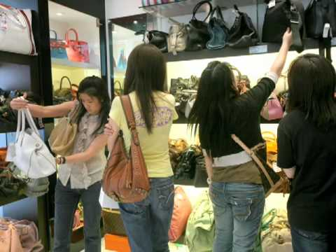 hermes printed canvas bag - HK's used handbags find second home - YouTube