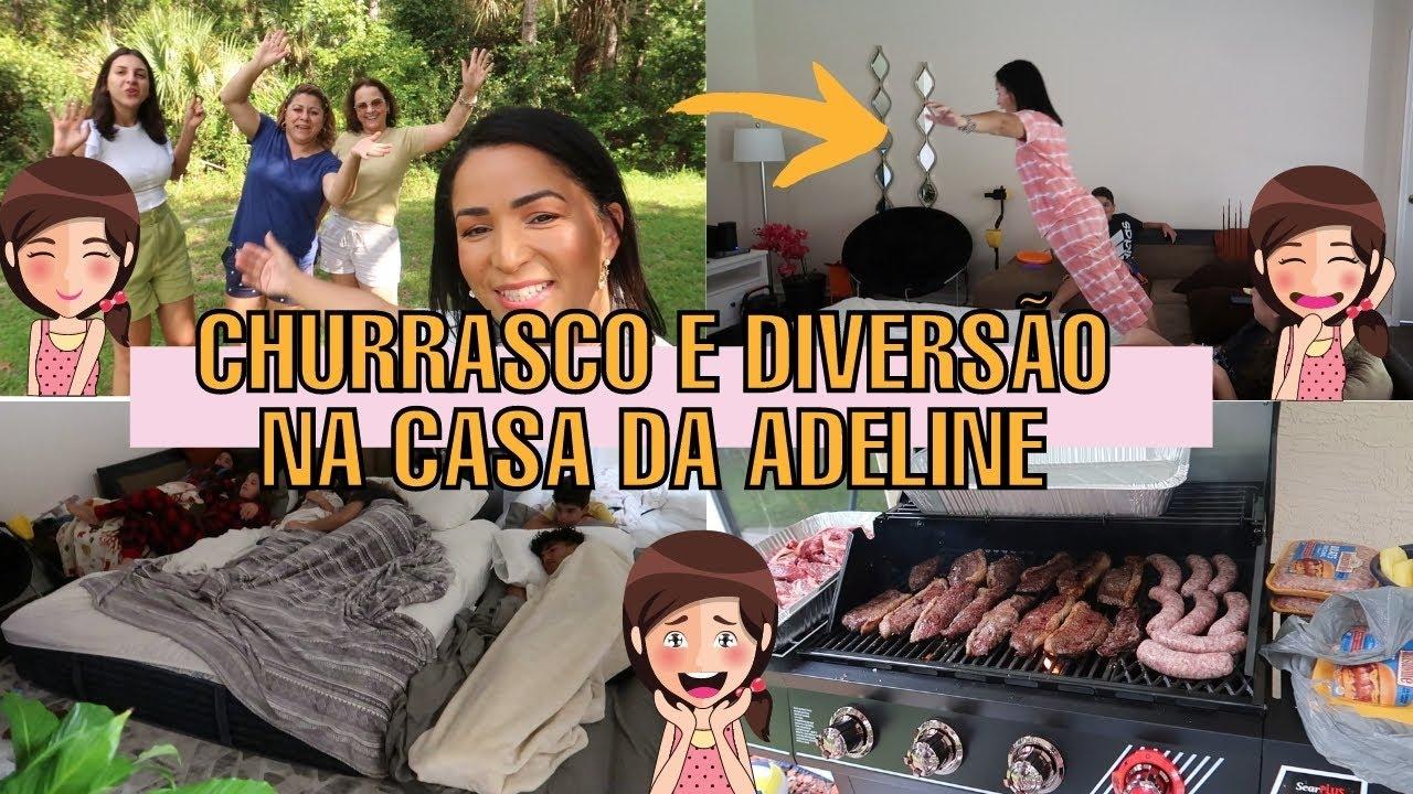FIM DE SEMANA MARAVILHOSO NA CASA NOVA DA ADELINE CAMARGO | CHURRASCO E MUITA DIVERSÃO