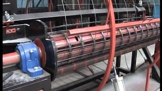 MASINA ZA ARMATURNE MREZE-MACHINE POUR TRELLIS SOUDÉ-ENROULÈE-AUTOMATIC WIRE MESH WELDING MACHINE