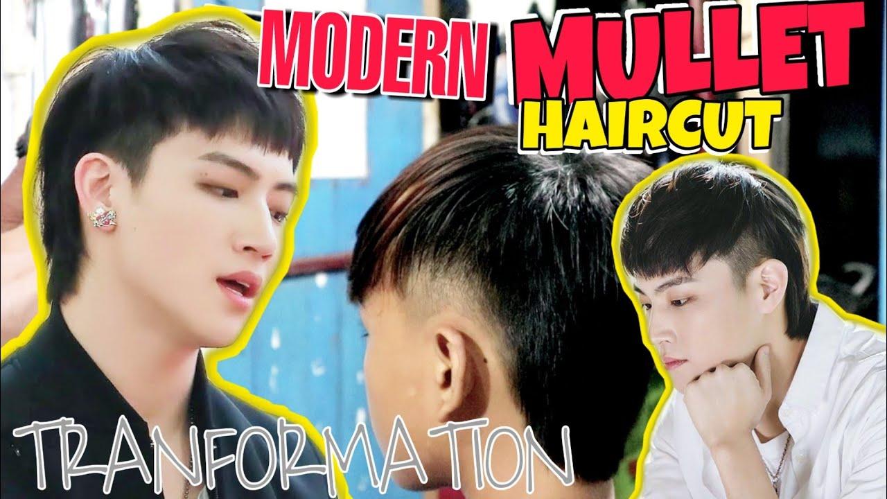 Modern Mullet Hairstyle Cara Memotong Rambut Model Rambut Ini Akan Populer 2021 Bebas Gunting Youtube