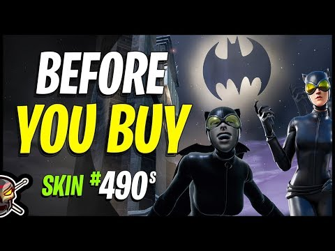 CATWOMAN COMIC BOOK SKIN | CAT'S CLAWS | BATGLIDER - Before You Buy - Fortnite