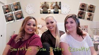 Smoothie Slim Detox Results: Reveal Vlog #25