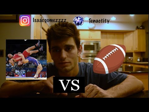 Which Sport Is Harder? Football Or Wrestling