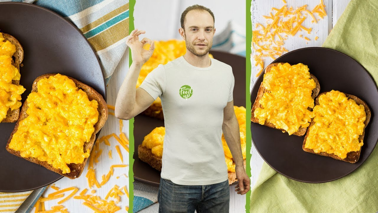 Perfect Scrambled Eggs with Cheese | Ready in 5 minutes