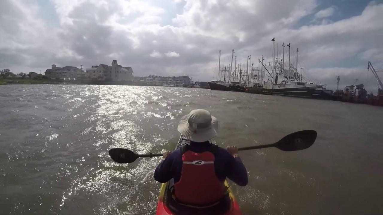 Kayaking at Cape May, NJ