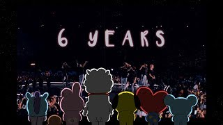 Gambar cover 6 Years With BTS | Magic Shop