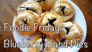 Blueberry Hand Pies!